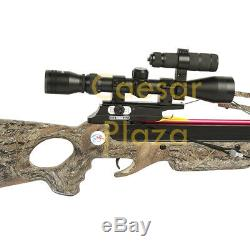 150 lb Camouflage Compound Hunting Crossbow Archery Bow +2 Arrow 180 175 80 50