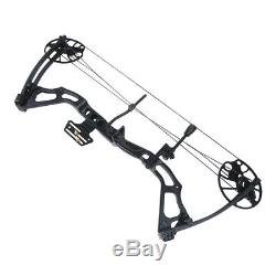 15-70 lb Black / Tree Camouflage Camo Archery Hunting Compound Bow 75 55 30 lbs