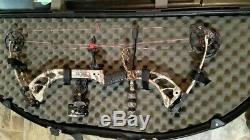 2014 PSE Archery Brute X Compound Bow Loaded Ready to Hunt