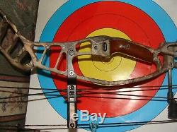 2016 Hoyt Nitrum Turbo Compound Hunting Bow, RTS package deal