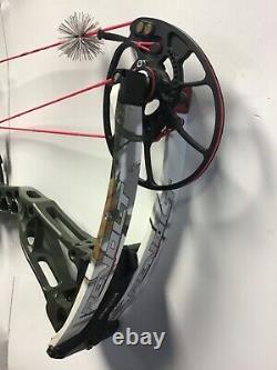 2020 Bowtech Revolt LH OD green riser White camo limbs 60lbs 26-31 draw 3
