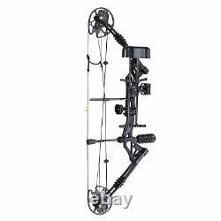 20-70lbs Pro Compound Right Hand Bow Kit Target Practice Hunting Arrow Archery