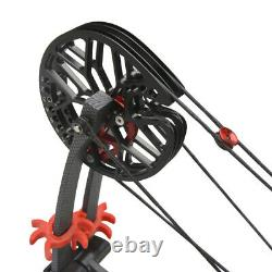 30-60Ibs Compound Bow Catapult Dual-use Steel Ball Left Right Hand Hunting M109E