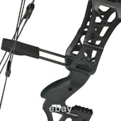 30-60lbs Compound Bow Steel Ball Fishing Hunting Catapult Dual-use Archery M109E