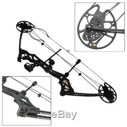 30-70lbs 30 Adjustable Compound Bow Archery Alloy Bow Outdoor Hunting Shooting