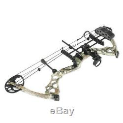 310fps Pro Camo Compound Right&left Hand Bow Kit Archery Arrow Target Hunting