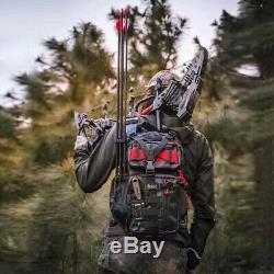 32 KRESIS Compound Bow 21.5lbs-80lbs Steel Ball Dual Purpose Slingshot Hunting