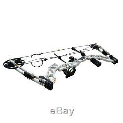 35-70lbs Right Hand Archery Compound Bow Hunting Target Sets Outdoor Camouflage