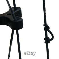 40-65lbs Archery Compound Bow Triangle Hunting 21 Ambidextrous Professional UK