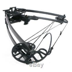 50lb IRQ Archery Hunting Triangle Compound Bow Right Left Hand 270fps Men Target