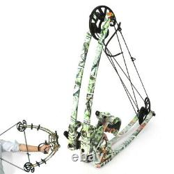 50lbs Triangle Archery Bow Compound Bow Outdoor Bow-Fishing Dual-use Bow Hunting