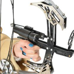 Archery 14'' Mini Compound Bow 25lbs Hunting Arrow Laser Sight Target Shooting