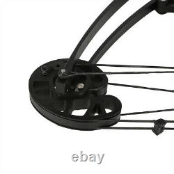 Archery 50lbs Compound Bow Ambidextrous Dual-use Triangle Bowfishing Bow Hunting
