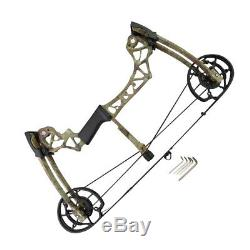 Archery Compound Bow Dual-use Catapult Steel Ball Bowfishing Hunting 40-60lbs