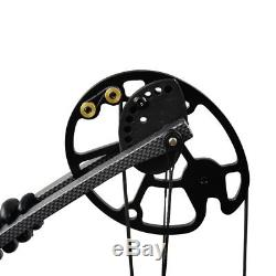 Archery Compound Bows 20-70LBS Left/Right Hand Hunting Bow Arrow Rest Set
