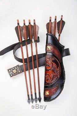 Archery Crossbow Handmade Natural Bow Arrow Hunting New 2018