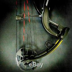 Archery NEW Predator 2 Compound Bow 50-65 Ibs RH Arrows Hunting Shooting