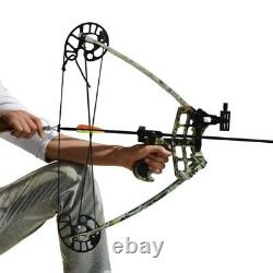 Archery Triangle Compound Bow Right Left Hand Hunting Shoot Competition 40lbs