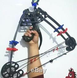 Archery Triangle Compound Bow Right & Left Hand Hunting Shoot Competition 50lbs