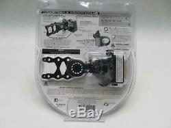 Axcel 7 Pin. 019 Fiber Armortech HD Hunting Sight (Black)