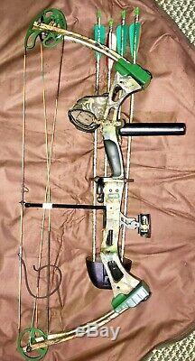 BEAR ARCHERY, HUNTING SHOWDOWN COMPOUND BOW With BUCHEIMER BAG ARROWS & MORE