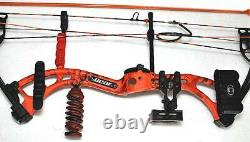 Bear Apprentice 3 Agent Orange Compound Bow Fishing