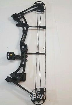 Bear Apprentice 3 Compound Bow Black Left Handed Youth Women Hunting Target