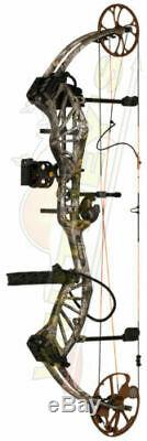 Bear Archery APPROACH LEFT HAND Ready to Hunt PACKAGE 45-60LB Realtree Edge
