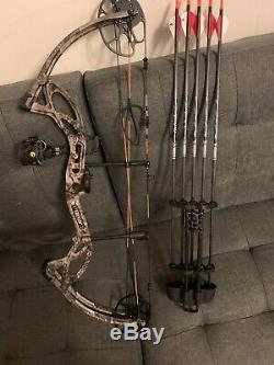 Bear Archery Cruzer G2 Ready To Hunt Package RH+5 Beman Carbon Arrows