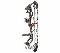 Bear Archery Legit 70lbs Limbs RH (Shadow) Compound Bow Package #AV13A21117R