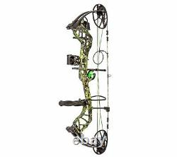 Bear Archery Legit 70lbs RH (Sirphis Toxic)Compound Bow Package #AV13A21047R