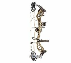 Bear Archery Legit WithAccessories 14- 30 Left Hand 10# -70# Realtree Edge NEW