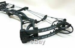 Bear Kuma Legend Series RH Compound Bow Archery Target Sport Hunting 29 DL 60PW