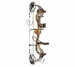 Bear Legit 70lbs 30 LH (Wildfire) Compound Bow Package #AV13A21037L
