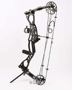 Black M127 Compound Bow Archery Set Hunting Bow RIGHT&LEFT HANDED BOW