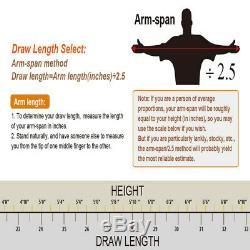 Black MAK Adult Hunting Archery Compound Bow WithBrush+3pcs Fiberglass Arrows