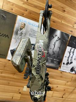 Bowtech 82nd Airborne Camo Hunting Bow Package LOADED RH Hard to Find RARE BOW