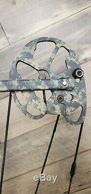 Bowtech Allegiance Vft Binary Cam Bow, Mint, Custom, Fast, Hunting 28-70 Rh