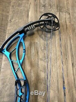 Bowtech Fanatic 2.0 XL Blue Compound Target/Hunting Bow