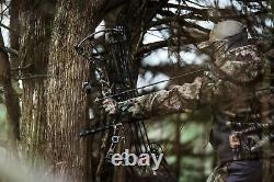 Bowtech Solution Ss Hunting Bow Black 25.5 31 Lgth 70lb Wght