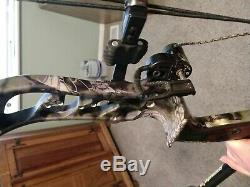Bowtech reign 7, 2018 compound hunting bow