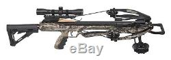 CenterPoint Mercenary 370. AXCM175CK Compound Crossbow, Hunting Package NEW