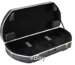 Compound Bow Hard Case Arrow Archery Hunting Storage Portable SKB Foam Padded