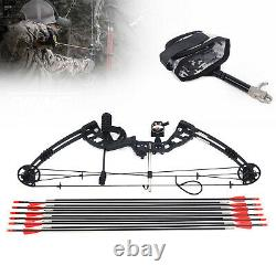 Compound Right Hand Bow Kit Arrow Archery Target Hunting Camo Set 12 Arrows