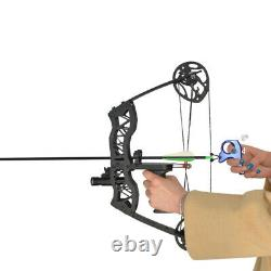 Compound bow Mini 40lbs Left Right Hand Archery Hunting Sight Arrows RH LH Shoot