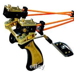 D&Q catapult gun figure bronze handle hunting bow