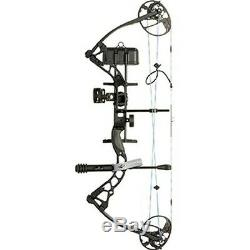 Diamond Archery B12488 Infinite Edge Pro Black LH 13-31 70lb Compound Bow