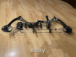 Diamond Archery Infinite Edge Pro Left Handed Hunting Bow Mossy Oak Country