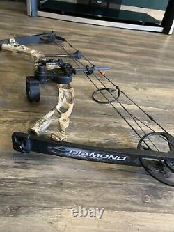 Diamond Archery Infinite Edge Pro Right Handed Hunting Bow Mossy Oak Country