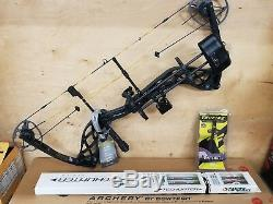 Diamond Deploy 2017 SB Compound Bow Package LH 70lbs FREE ARROWS Left Handed